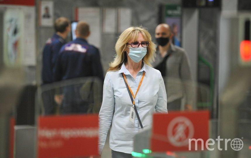 "В целях безопасности москвичам необходимо носить маски. Фото АГН ""Москва""/Александр Авилов"
