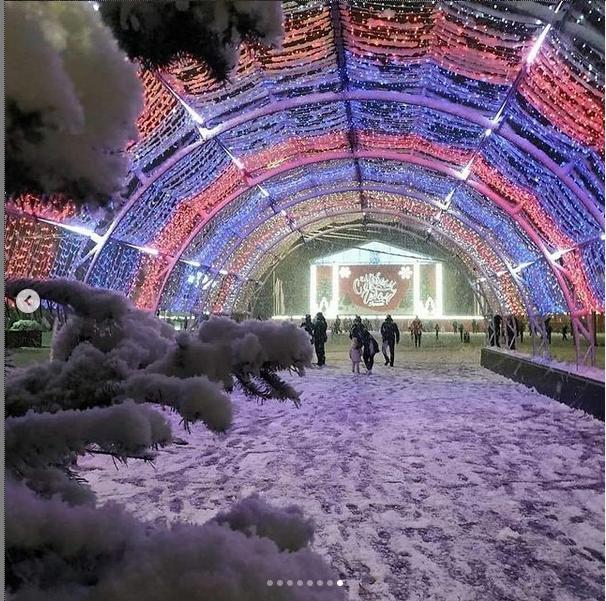 """Зима в Анапе. Фото https://www.instagram.com/p/CJDRpQDl8xs/, """"Metro"""""""