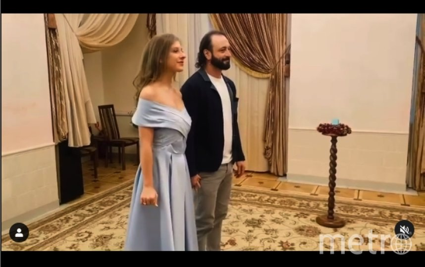 Свадьба Авербуха и Арзамасовой. Фото https://www.instagram.com/p/CJBcK9NFQHL/