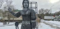 Памятник нововоронежской Алёнке, испугавший местных жителей, демонтируют
