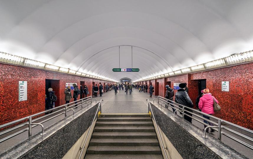 "Станция метро ""Маяковская"" в Петербурге. Фото Alex 'Florstein' Fedorov, wikipedia"