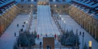 Открылась самая большая зимняя горка Петербурга – яркие фото