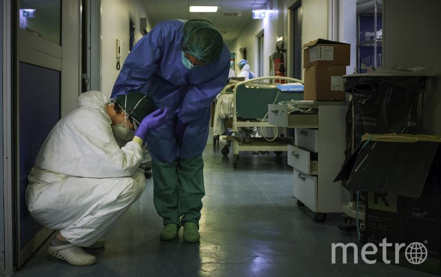 Поддержка коллег. Фото Паоло Миранда, AFP