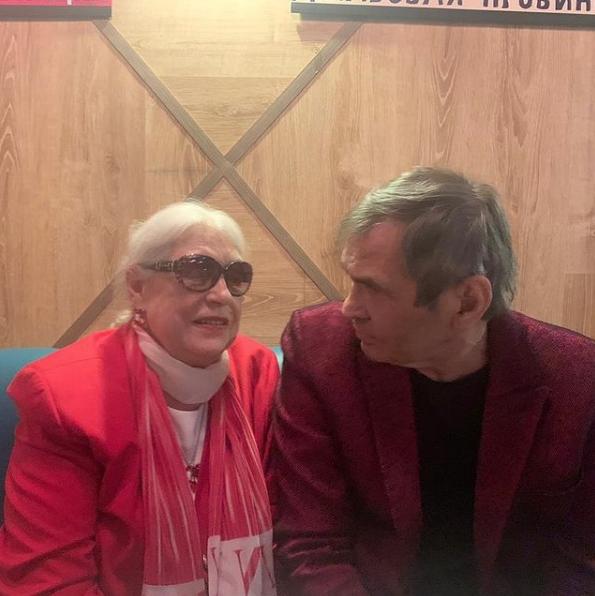 Бари Алибасов и Лидия Федосеева-Шукшина. Фото Скриншот Instagram: @alibasov_nana