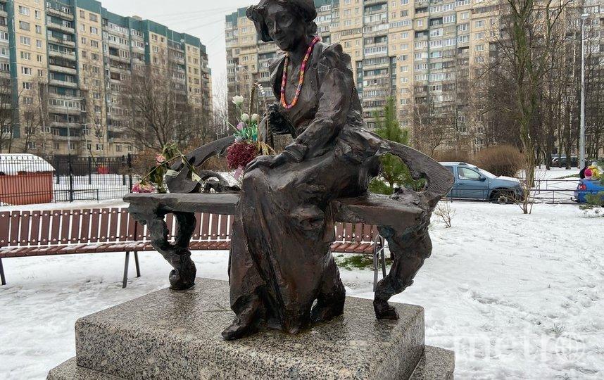 """Памятник Фаине Раневской. Фото Ксения Гайзлер, """"Metro"""""""