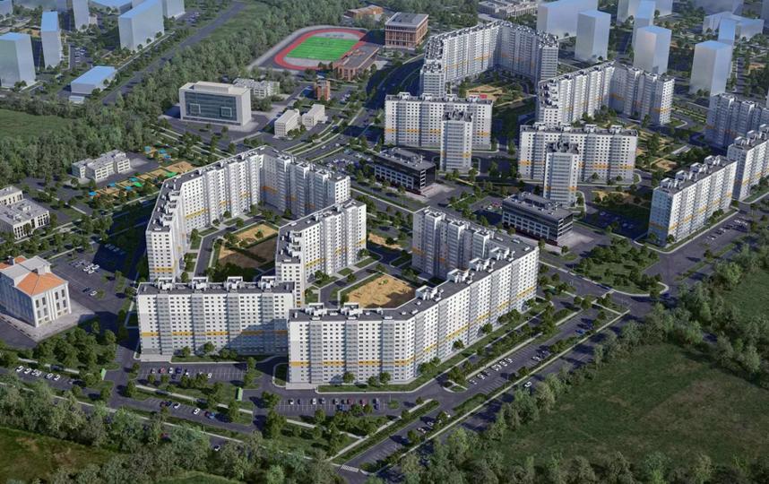Генплан Петербурга в том числе определяет места под новое жильё. Фото gov.spb.ru