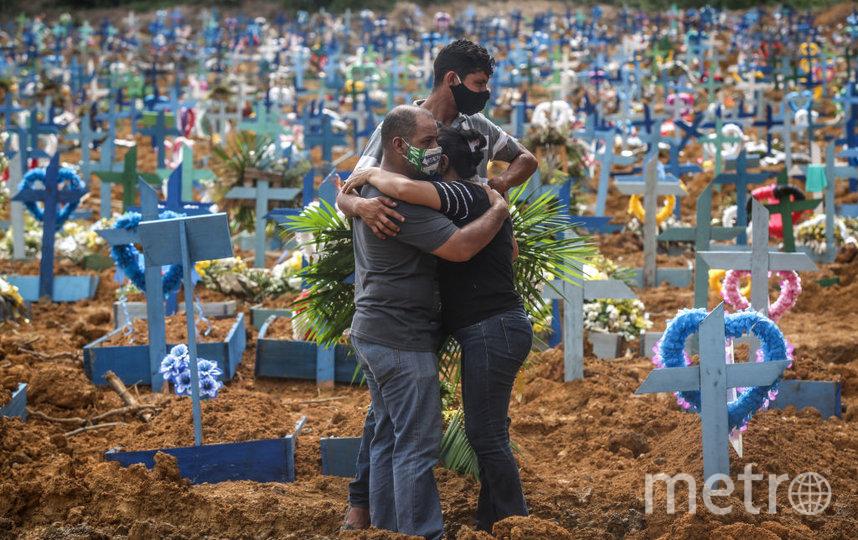 Ковид - главная беда 20 года. Фото Getty
