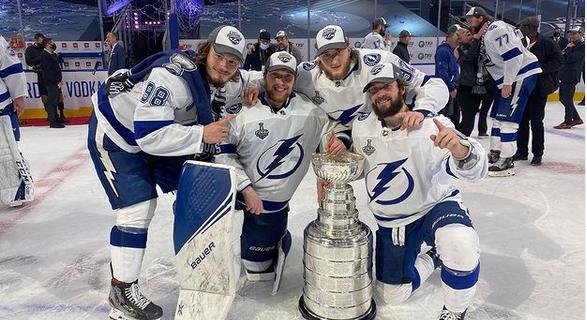 Четверо россиян взяли Кубок Стэнли.
