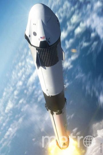 Запуск ракеты. Фото предоставлено пресс-службой телеканала «Наука»