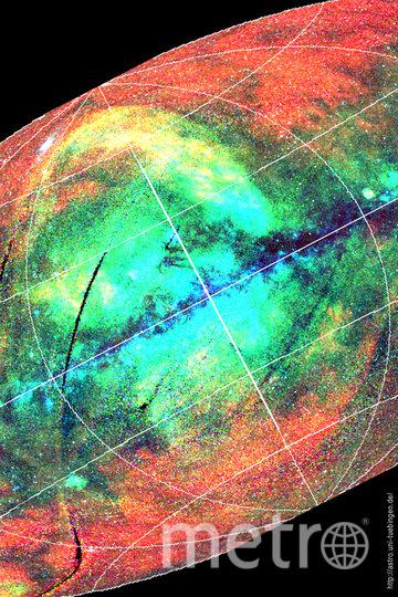 Карта Вселенной. Фото предоставлено пресс-службой телеканала «Наука»
