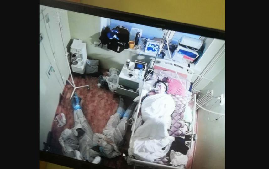 Вот это фото сделала медсестра коронавирусного отделения. Фото  ЦМСЧ №38