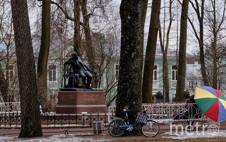 """Пушкин. Фото Алена Бобрович, """"Metro"""""""