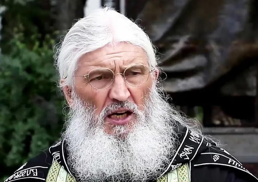 Экс-схиигумен Сергий (Романов). Фото Скриншот видео.
