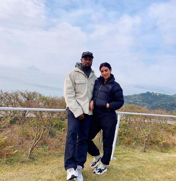 Канье Уэст и Ким Кардашьян. Фото Скриншот Instagram: @kimkardashian