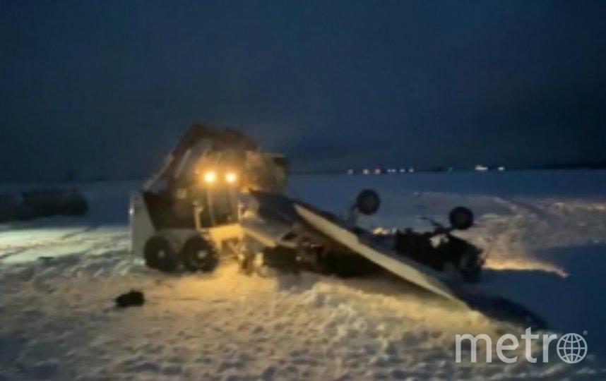 Крушение Piper-150 произошло при взлёте с аэродрома в Гостилицах. Фото szsut.sledcom.ru.