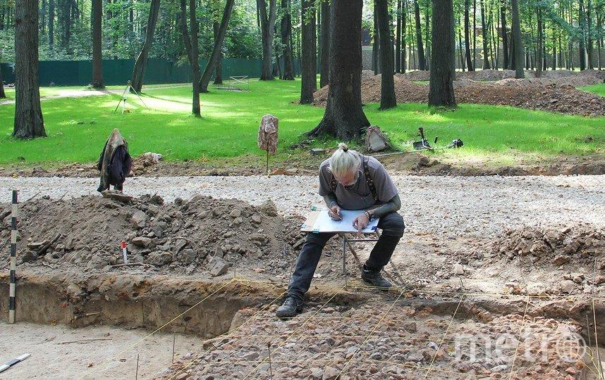 В усадьбе Измалково специалисты обнаружили остатки сооружений более чем двухсотлетней давности. Фото mos.ru