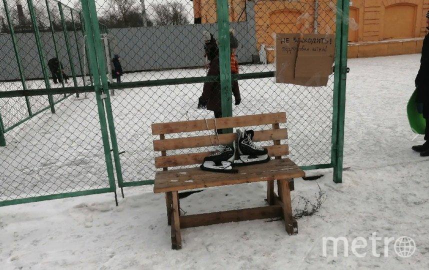 По словам активистов, кататься на катке теперь можно «сутками напролет». Фото vk.com/mytndvor.