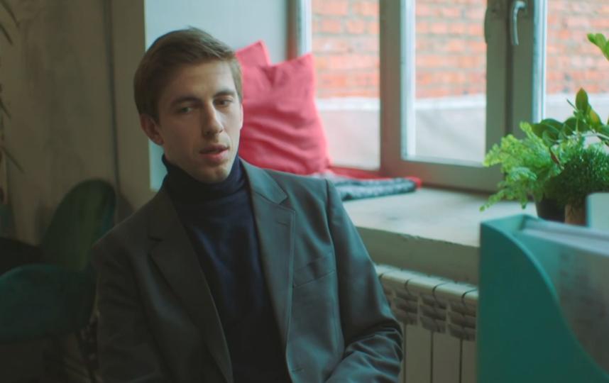 Александр Паль. Фото кадр из фильма