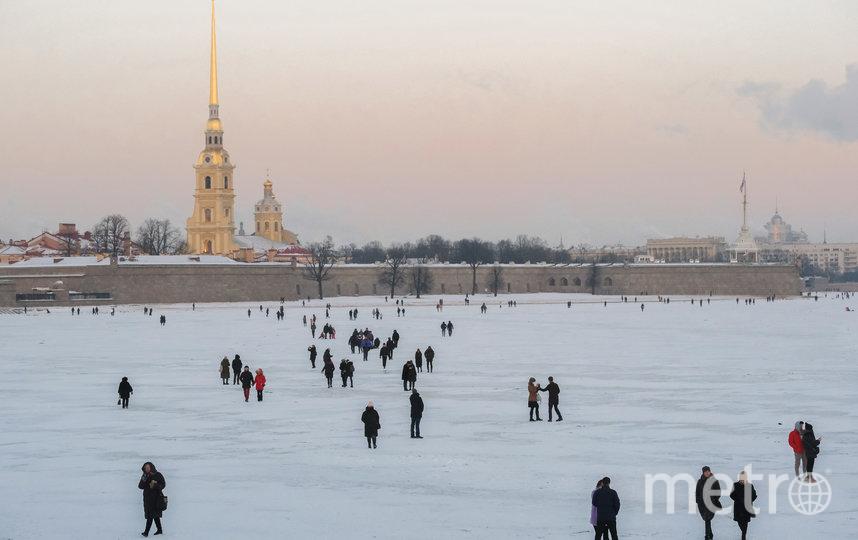 """Морозная погода в Петербурге продержится до конца недели, ночью столбик термометра будет опускаться до –20 градусов. Фото Алена Бобрович, """"Metro"""""""