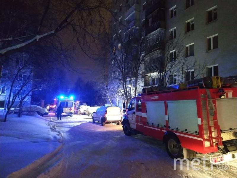 Пожар на Рассветной улице. Фото https://66.mchs.gov.ru/