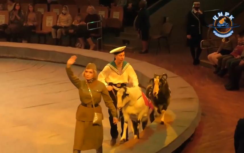 На шоу использовали нацистскую символику. Фото соцсети