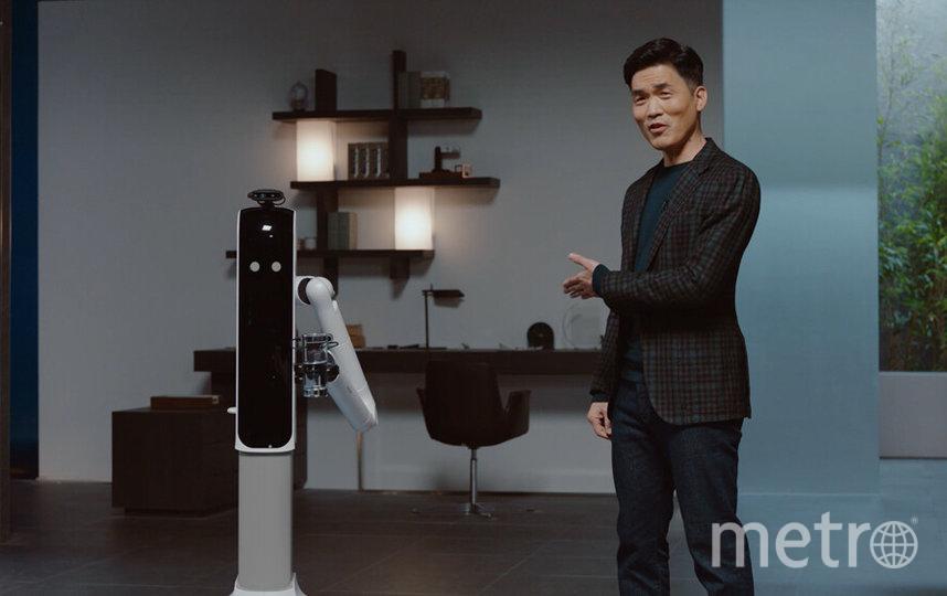Робот Bot Handy. Фото скриншот из Consumer Electronics Show на youtube, Скриншот Youtube