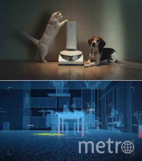 Робот с JetBot 90 AI+. Фото скриншот из Consumer Electronics Show на youtube
