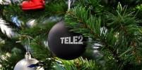 Абоненты Tele2 из Москвы отпраздновали Новый год дома