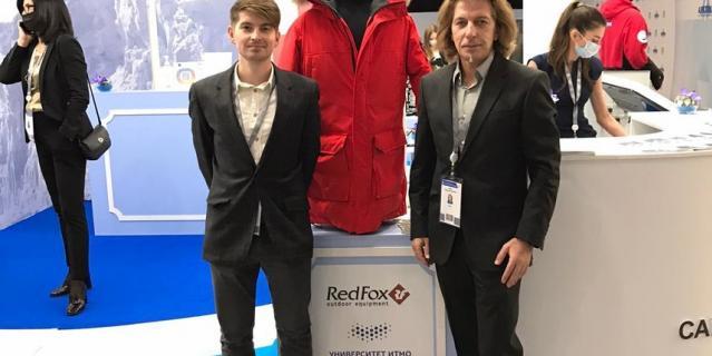 Куртку стартап будет производить вместе с известным российским брендом Red Fox.