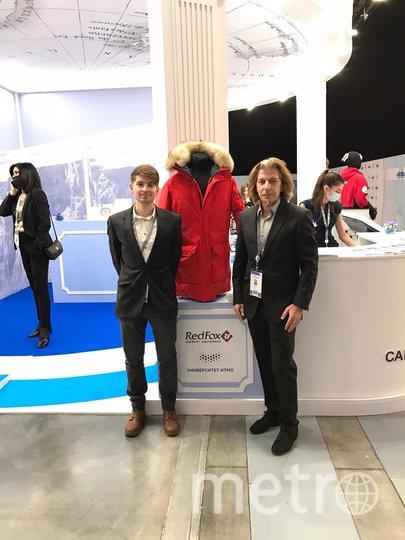 """Куртку стартап будет производить вместе с известным российским брендом Red Fox. Фото  предоставлены университетом ИТМО и Олави Сийкки, """"Metro"""""""
