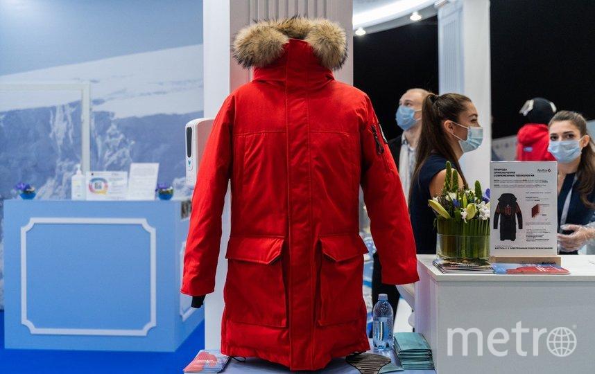 """Вес «умной» куртки ненамного больше обычной – всего граммов на триста. Фото предоставлены университетом ИТМО и Олави Сийкки, """"Metro"""""""