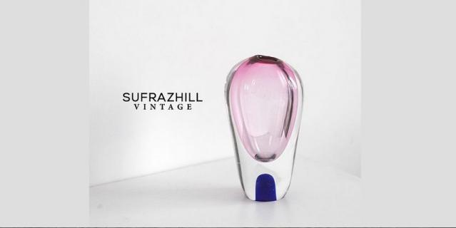 Бокалы и ваза от @sufrazhill_vintage.