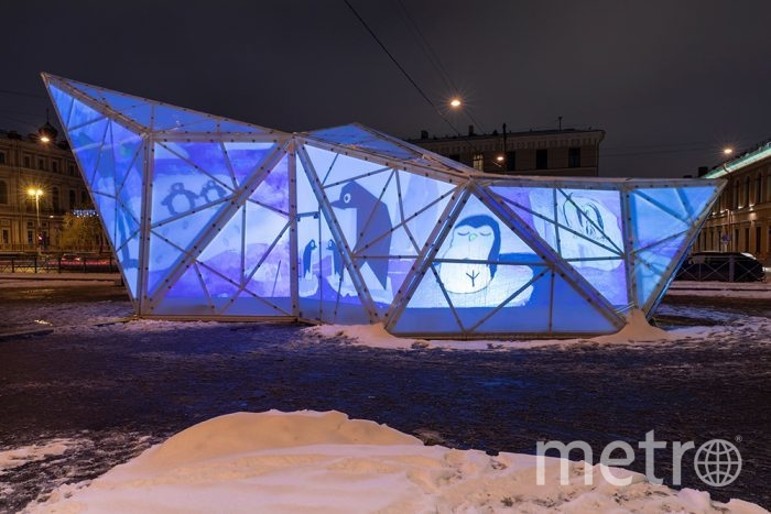 Проект ArtAntarctica. Фото manege.spb.ru