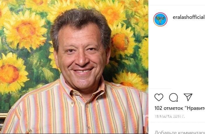 Борис Грачевский. Фото Скриншот Instagram: @eralashofficial