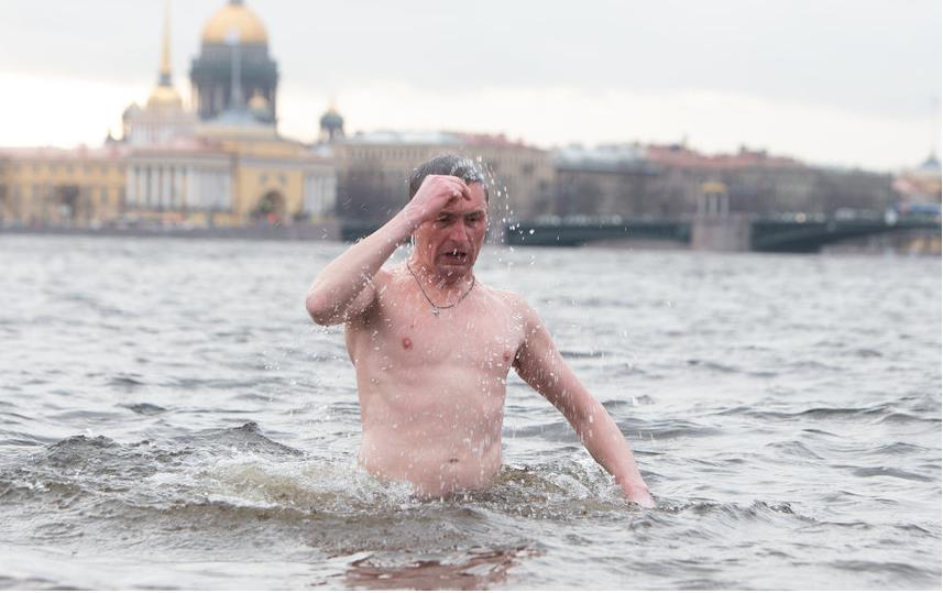 """В прошлом году в Крещение в Петербурге не было снега. Фото Святослав Акимов, """"Metro"""""""