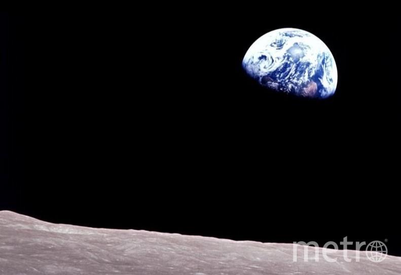 Снимок был сделан экипажем аппарата «Аполлон 8» в декабре 1968 года. Фото NASA.