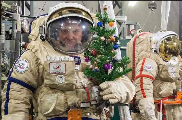 Космонавт. Фото @olegmks.