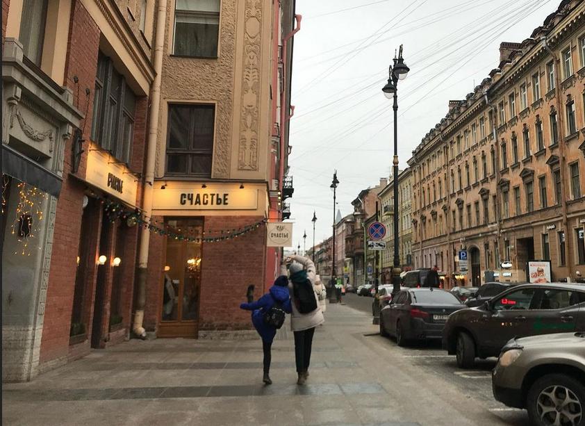 Улица Рубинштейна: кадры из жизни. Фото instagram @wild_spruce
