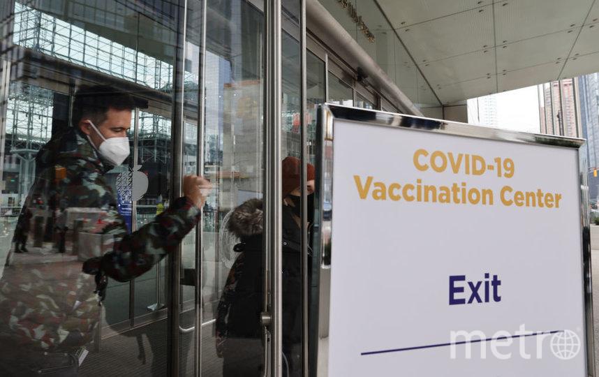 В Нью-Йорке на следующей неделе закончатся дозы вакцины от COVID-19. Фото Getty