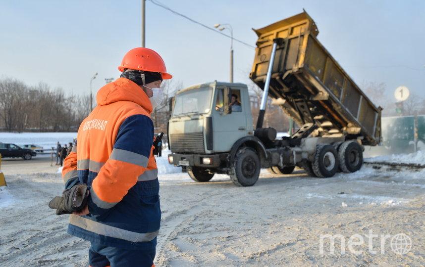 "Работа идёт нон-стоп. Фото Александр Кочубей, ""Metro"""