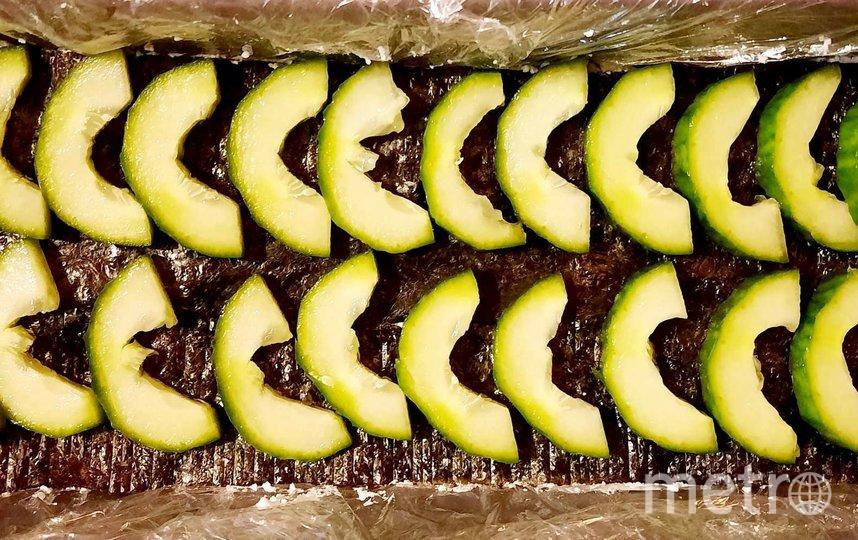 "Суши-торт. Фото Зинаида Белова, ""Metro"""