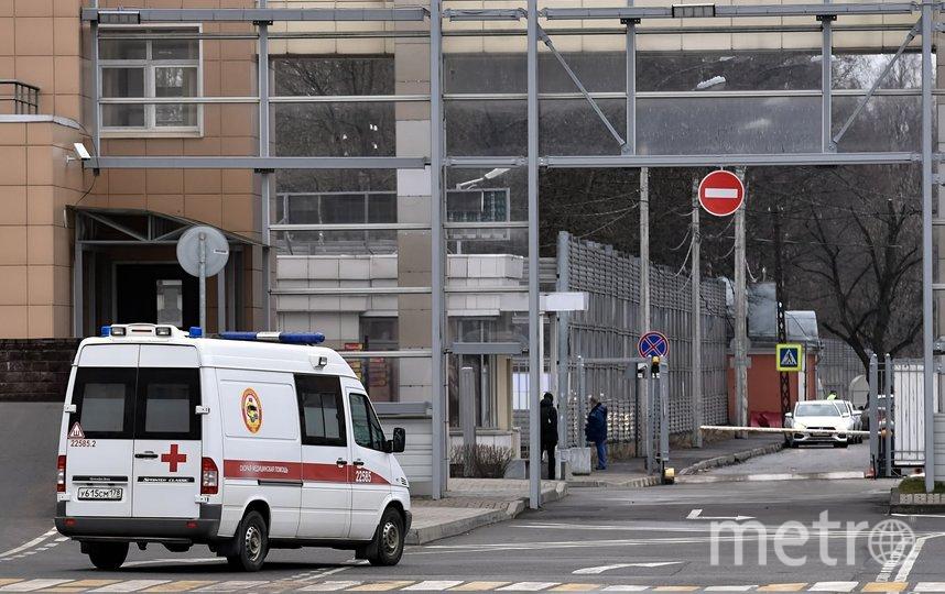 """В Петербурге в больницы стало попадать меньше заболевших коронавирусом. Фото """"Metro"""""""
