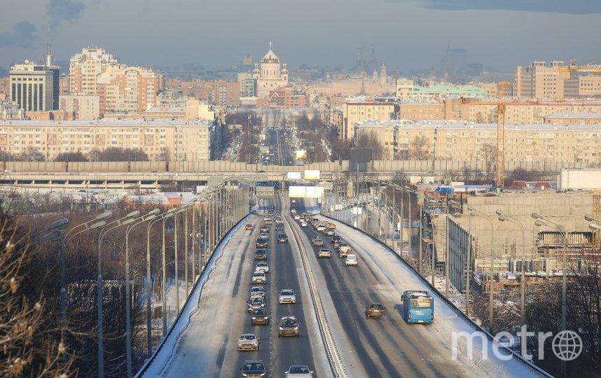 """Москва. Фото Андрей Никеричев/агентство """"Москва"""""""