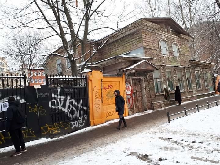 Особняк Бремме находится на 12-й линии Васильевского острова, 41. Фото vk.com/retro_vo.