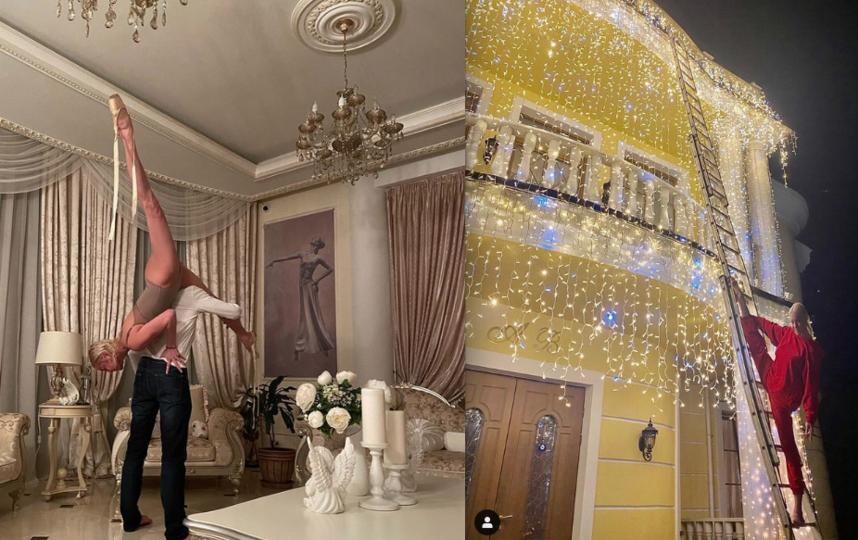 Шпагаты Анастасии Волочковой. Фото Скриншот Instagram: @volochkova_art