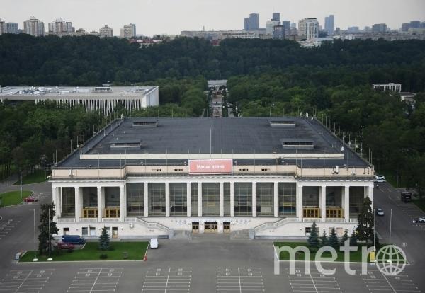 Тестирование проходит на Малой Спортивной арене в Лужниках. Фото РИА Новости