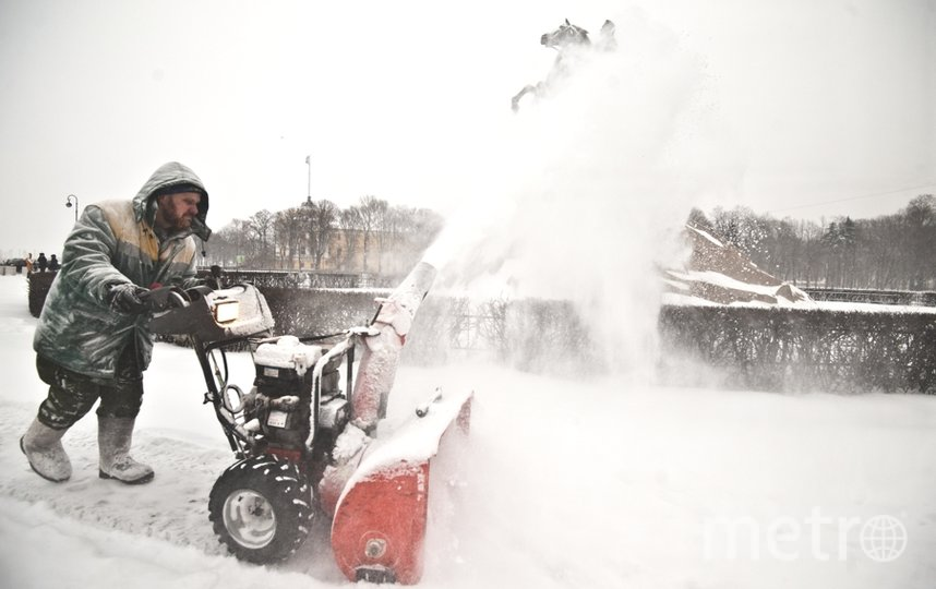 "Снегопад в Петербурге. Фото архив, ""Metro"""