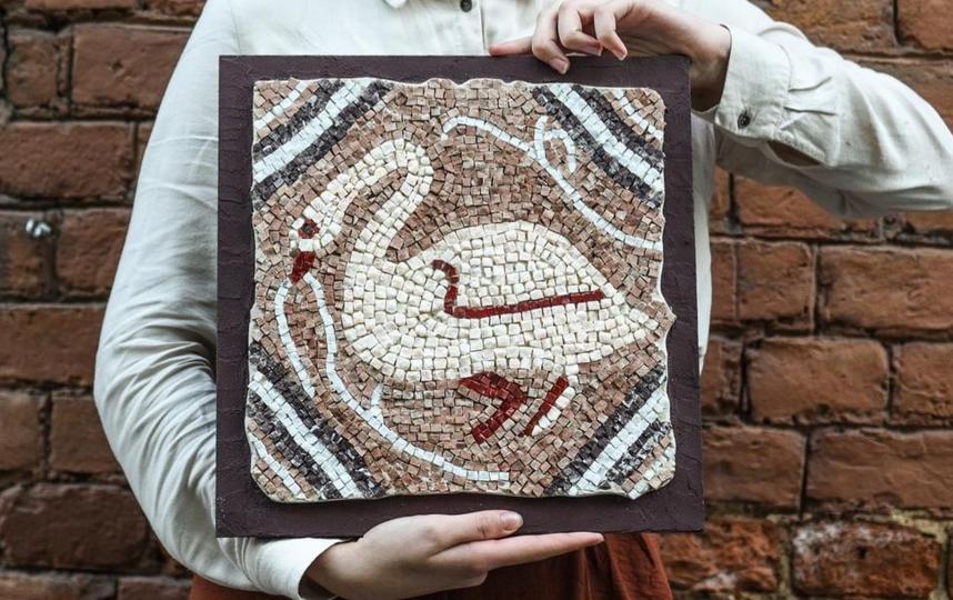 Мозаикой можно увлечься – и через несколько занятий сделать, например, такую. Фото instagram.com/wowmosaic