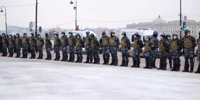 Санкт-Петербург, 23 января 2021.