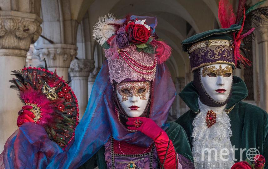 Венецианский карнавал, 2020. Фото Getty